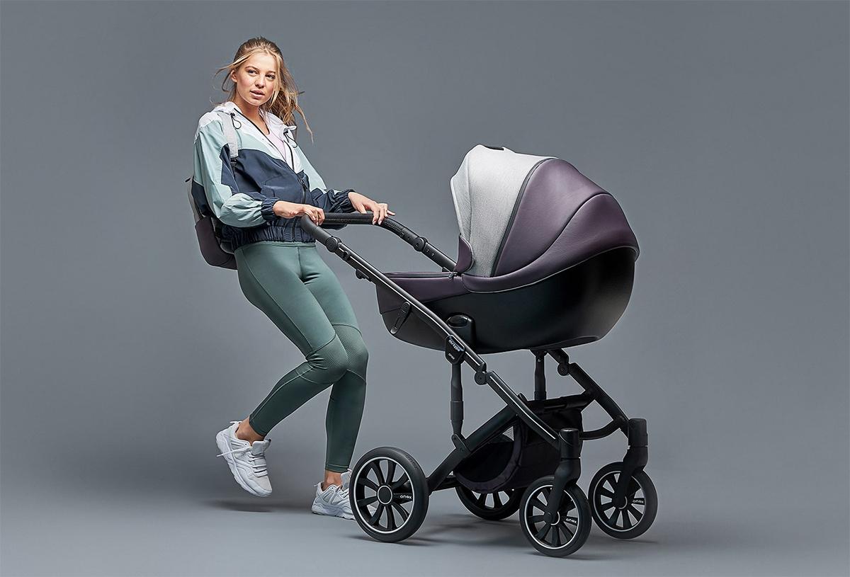 Wózek dziecięcy głęboko-spacerowy Anex mtype 2w1  - bezpieczna i wygodna gondola