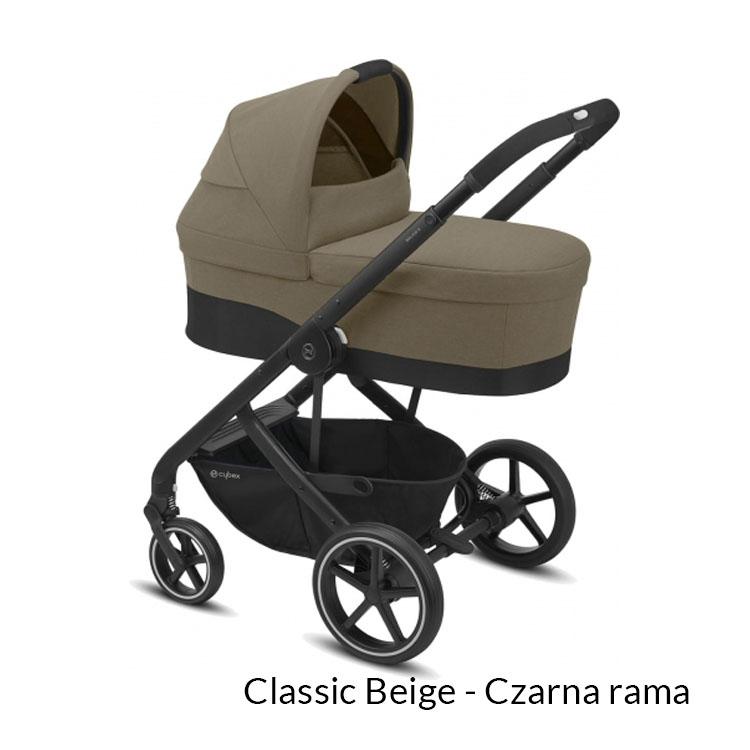 Wózek spacerowy CYBEX Balios S LUX - regulacja siedziska