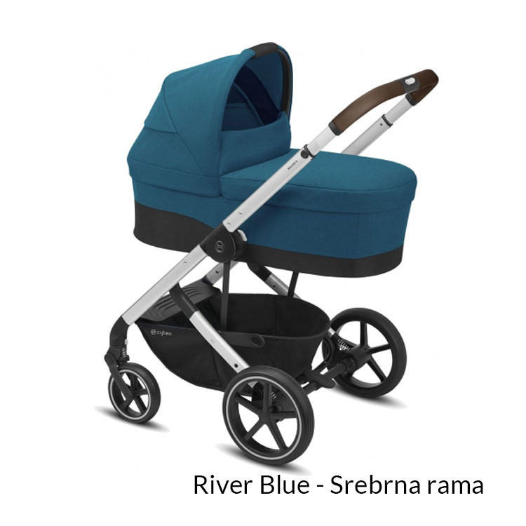 Wózek spacerowy CYBEX Balios S LUX -  bezpieczny wózek dla dzieci