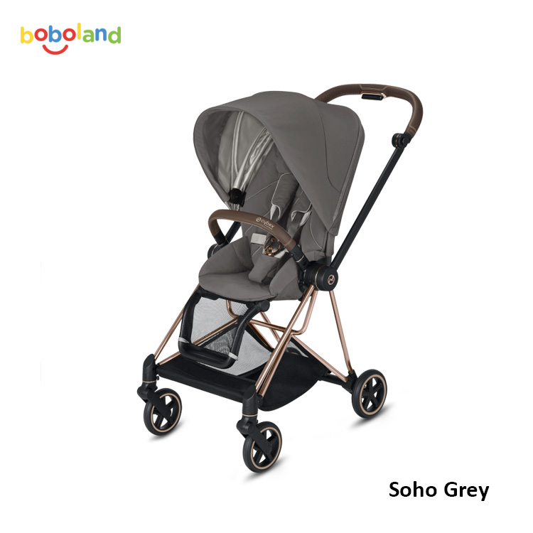 Wózek spacerowy Cybex Mios 2.0 2019 - kolor Soho Grey