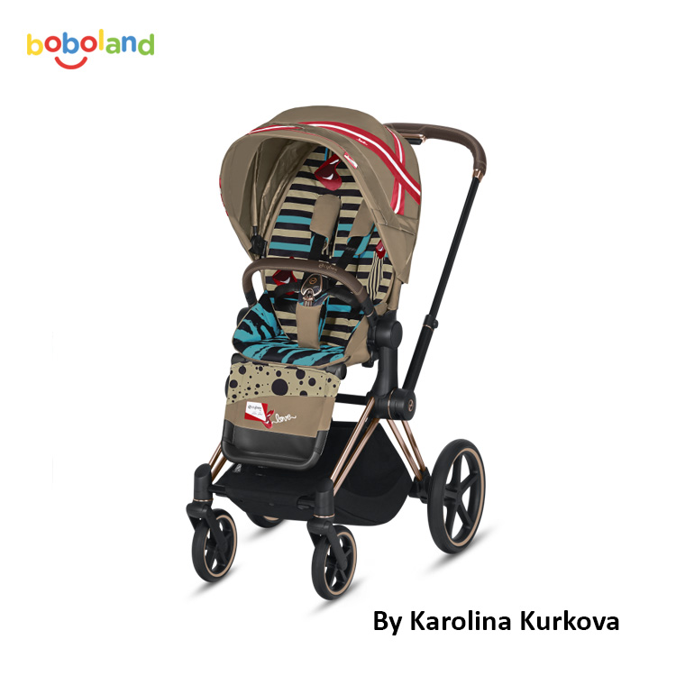 Wózek spacerowy CYBEX Priam 2.0 - kolor Cybex by Karolina Kurkova