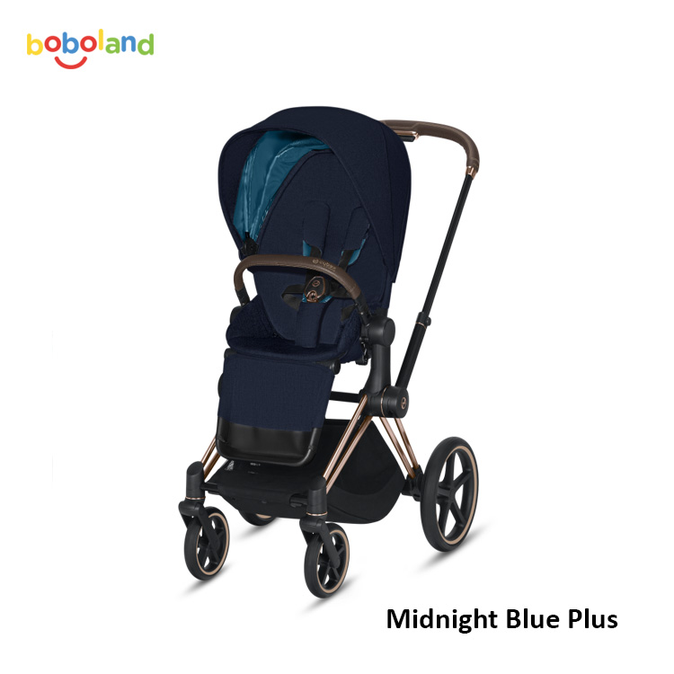 Wózek spacerowy CYBEX Priam 2.0 - kolor Midnight Blue Plus