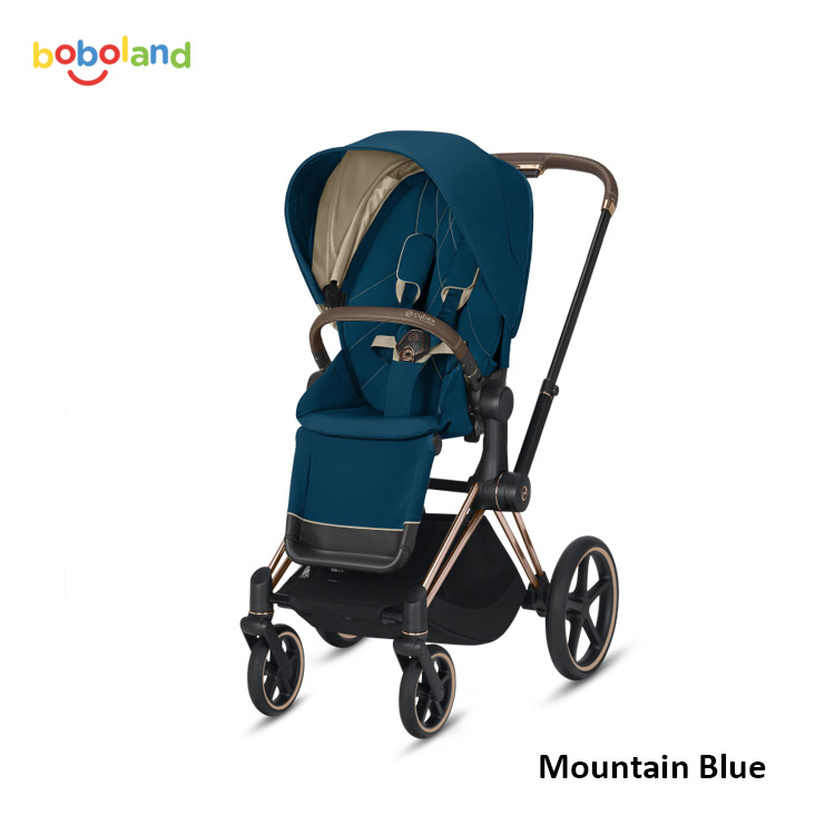 Wózek spacerowy CYBEX Priam 2.0 - kolor Mountain Blue
