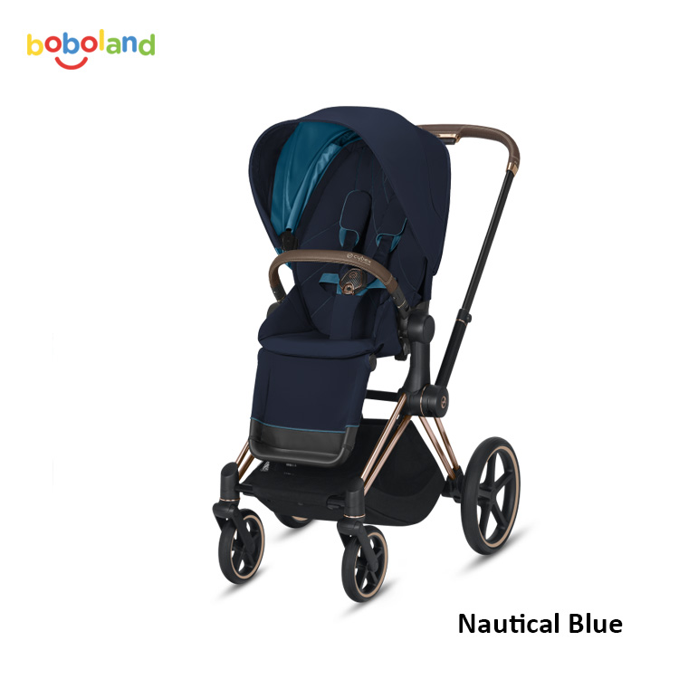 Wózek spacerowy CYBEX Priam 2.0 - kolor Nautical Blue