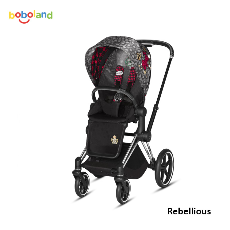 Wózek spacerowy CYBEX Priam 2.0 - kolor Rebellious