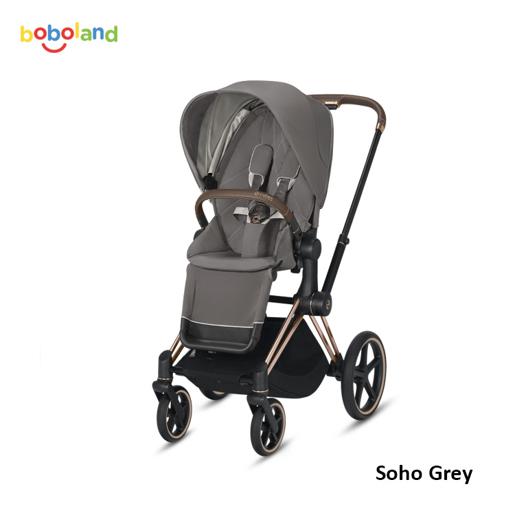 Wózek spacerowy CYBEX Priam 2.0 - kolor Soho Grey