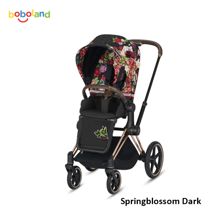 Wózek spacerowy CYBEX Priam 2.0 - kolor Springblossom Dark
