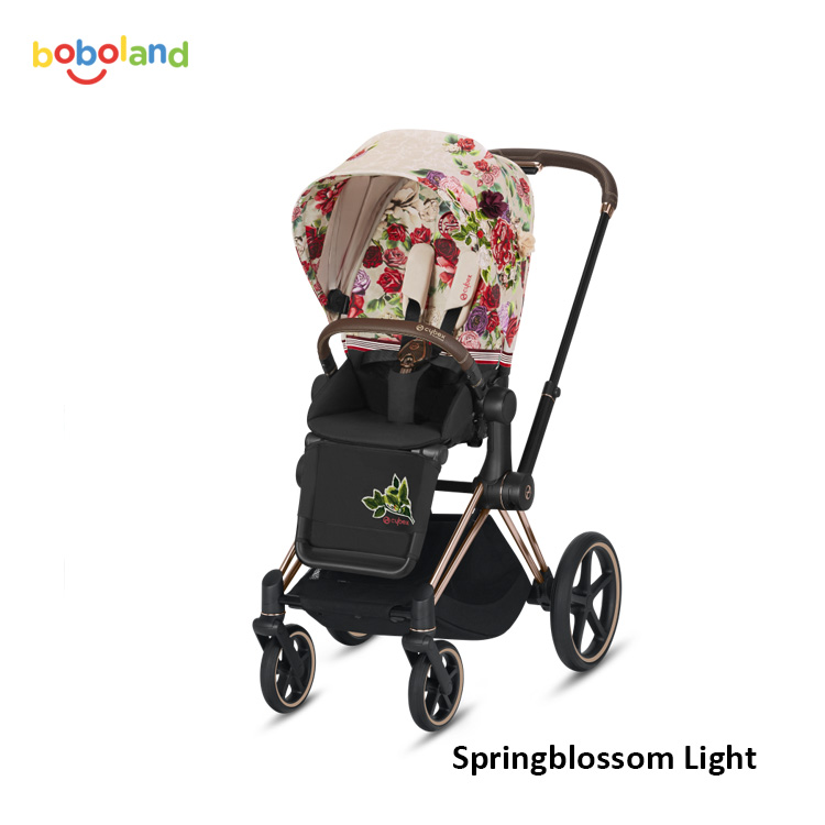 Wózek spacerowy CYBEX Priam 2.0 - kolor Springblossom Light