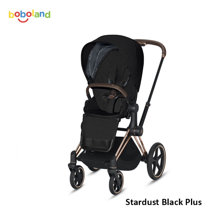 Wózek spacerowy CYBEX Priam 2.0 - kolor Stardust Black Plus