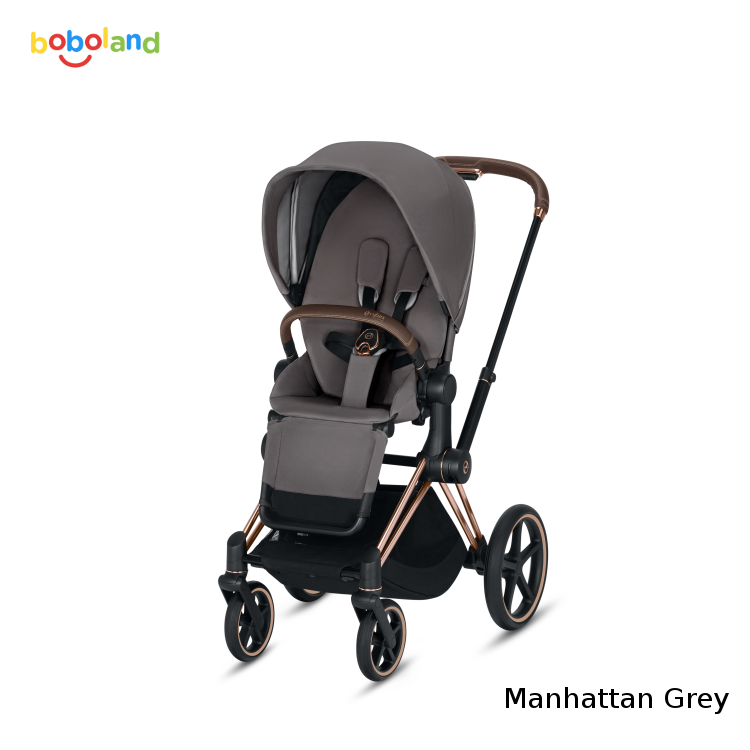 Wózek spacerowy CYBEX Priam 2.0 - kolor Manhattan Grey