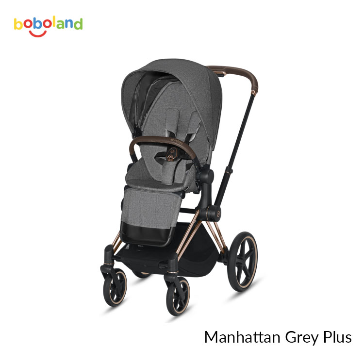Wózek spacerowy CYBEX Priam 2.0 - kolor Manhattan Grey Plus