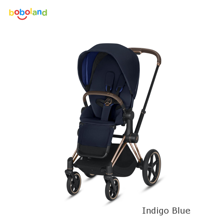 Wózek spacerowy CYBEX Priam 2.0 - kolor Indigo Blue