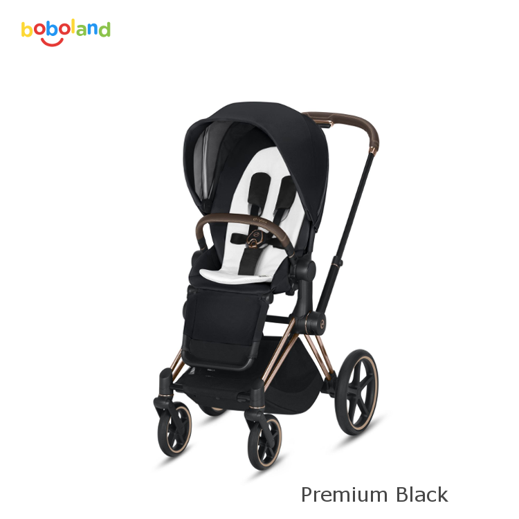 Wózek spacerowy CYBEX Priam 2.0 - kolor Premium Black