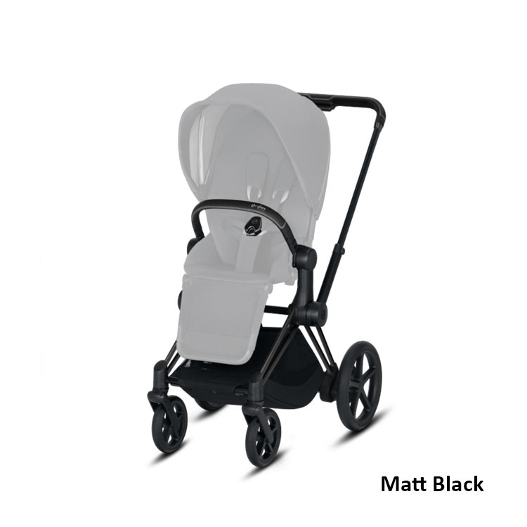 Wózek spacerowy CYBEX Priam 2.0 - rama matt black