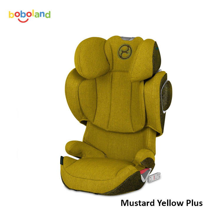 Fotelik samochodowy CYBEX Solution Z-Fix - kolor Mustard Yellow Plus