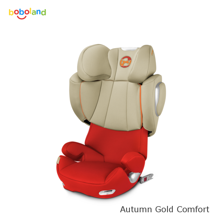 Fotelik samochodowy CYBEX Solution Q3-Fix - kolor Autumn Gold Comfort