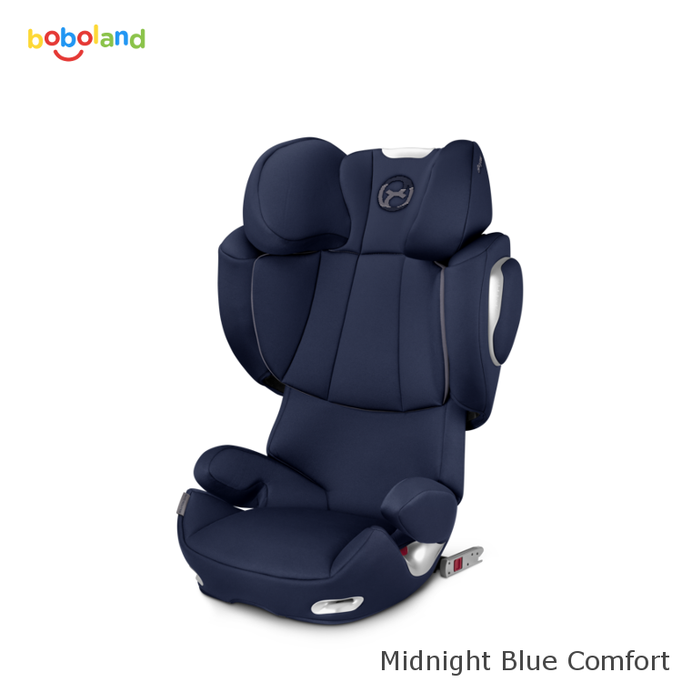 Fotelik samochodowy CYBEX Solution Q3-Fix - kolor Midnight Blue Comfort