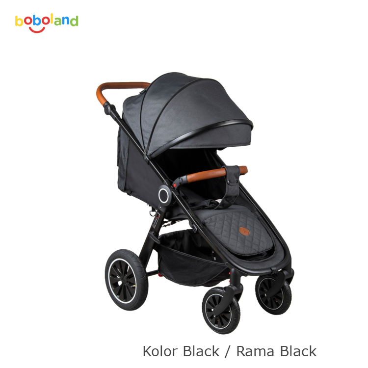 Wózek spacerowy Coletto Joggy 2019  - kolor black / rama black