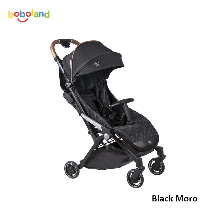 Wózek spacerowy Coletto Lanza black moro