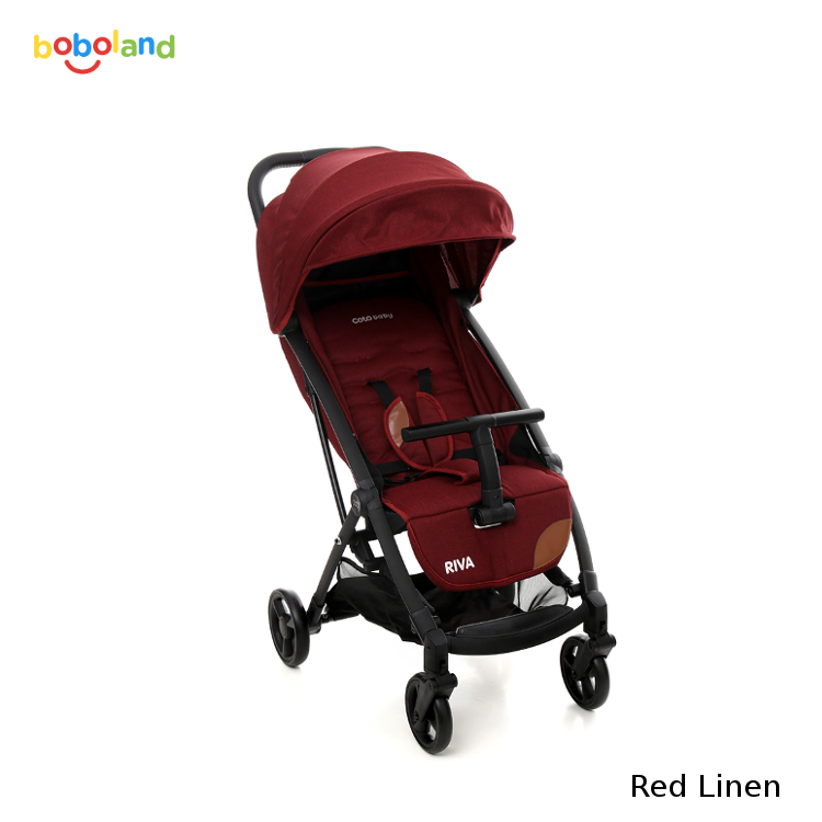 Wózek spacerowy Coto Baby Riva - kolor Red Linen