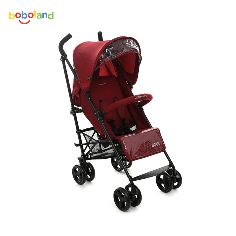 Wózek spacerowy Coto Baby Soul - kolor red
