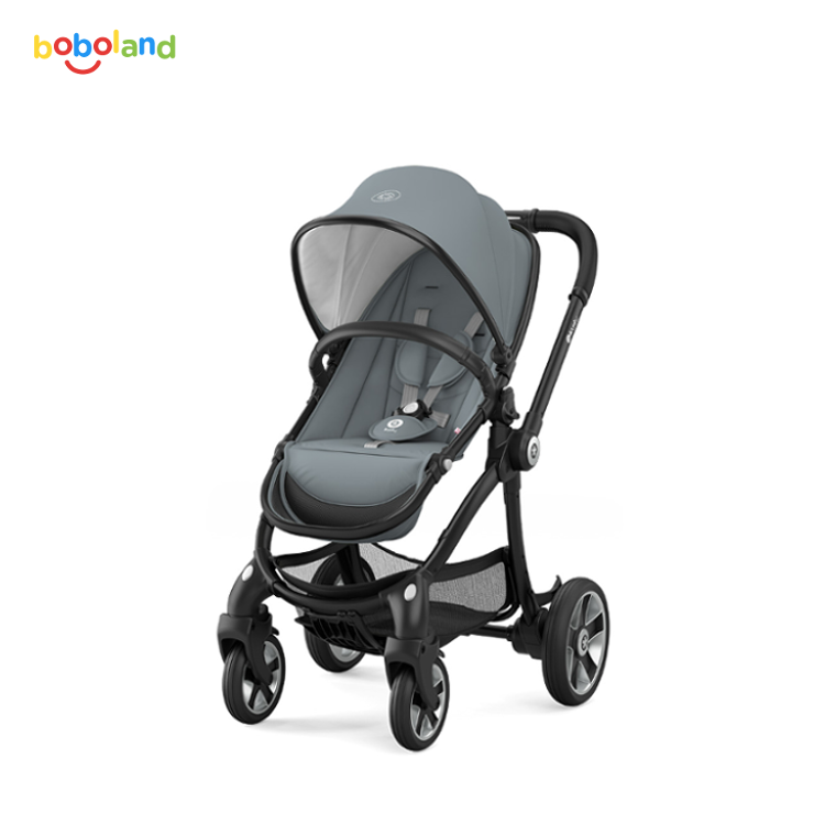 Wózek spacerowy Kiddy Evostar 1 - Kiddy kolekcja 2017 - Steel Grey