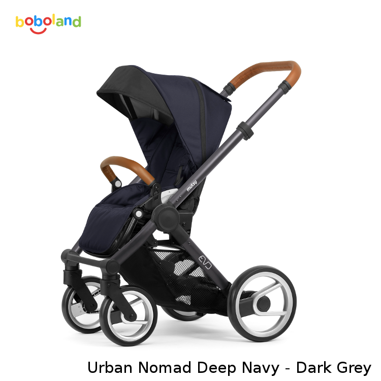 Wózek spacerowy MUTSY EVO kolekcja 2019 - kolor Urban Nomad Deep Navy - Dark Grey