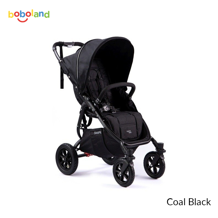 Wózek spacerowy Valco Baby Snap 4 Sport VS - kolor Coal black