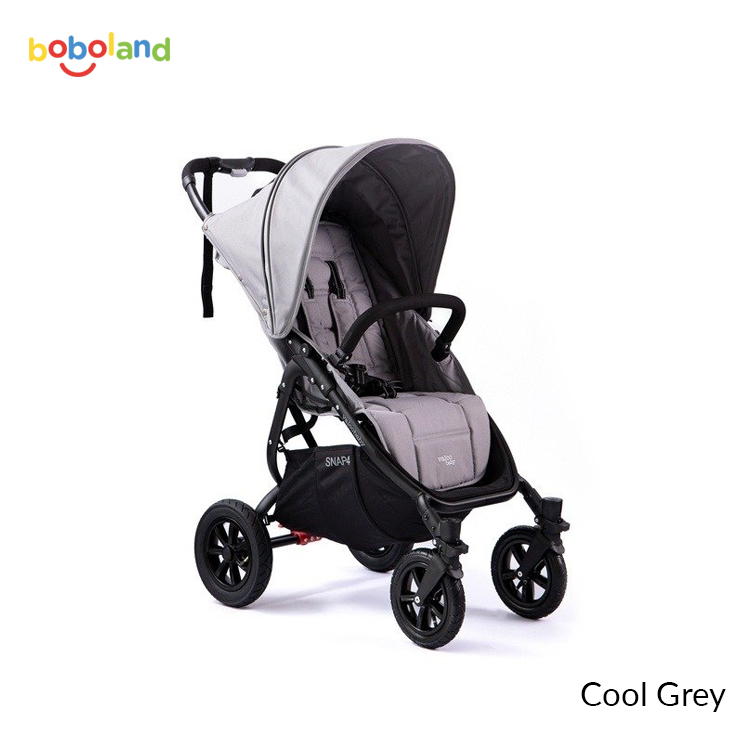Wózek spacerowy Valco Baby Snap 4 Sport VS - kolor Cool Grey